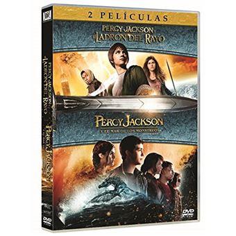 Percy Jackson Y El Ladrón Del Rayo+ Percy Jackson Y El Mar De Los Monstruos Pack / Percy Jackson and the Olympians: The Lightning Thief + Percy Jackson: Sea of Monsters (2DVD)