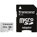 cartão de memória Transcend microSDHC 300S 32GB  Class 10 NAND Cinzento