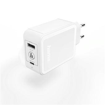 carregador de dispositivos móveis Hama 00183320  interior Branco
