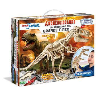 Archeogiocando Clementoni 13937 Lo Scheletro del Grande T-Rex