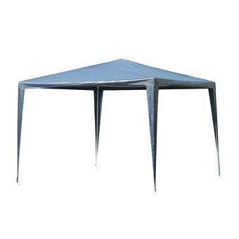 Tenda de Jardim Destacável e Impermeável Outsunny - Azul -  90g / m² - 3x3x2,45 m