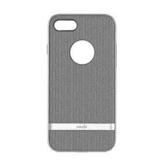 Capa Moshi Vesta para iPhone 8/7  Herringbone Cinza