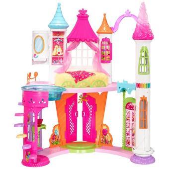 Casa de bonecas Barbie Dreamtopia Sweetville Castle Plástico  Multi cor