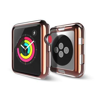 23d221672c9 Capa TPU Magunivers Gel Macio Ouro para Apple Watch Series 3 2 42Mm -  Bracelete Relógio - Compra na Fnac.pt