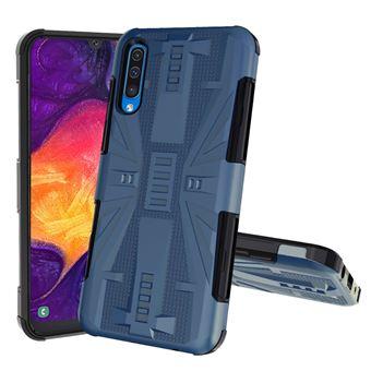 Capa Magunivers   TPU à prova de choque Azul escuro para Samsung Galaxy A50/A50s/A30s