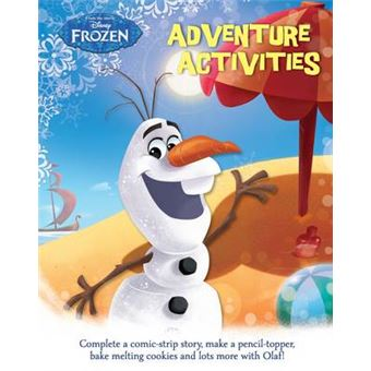 Disney Frozen Adventure Activities - Paperback - 2015