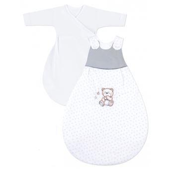 Julius Zöllner 9122414240 68/74 saco manta para bebé Azul, Branco Menino/Menina