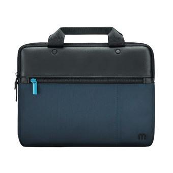 """mala para portáteis Mobilis 005028 11"""" Pasta Preto, Azul"""