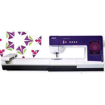 Máquina de Costura e Bordado Pfaff Creative 4.5 e Módulo de Bordado 260 X 200