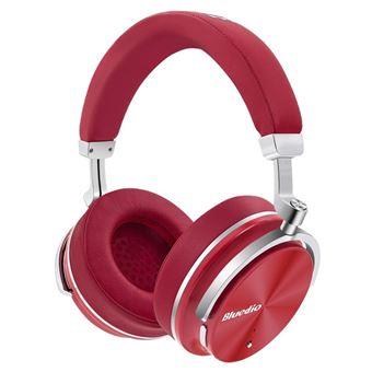 Auscultadores Desporto Bluetooth Magunivers BLUEDIO T4 com Cancelamento de Ruído com Microfone sem Fios Vermelho