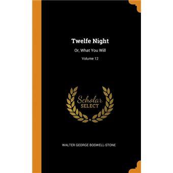twelfe Night Hardcover