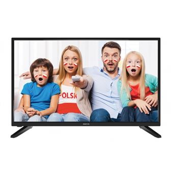 "TV LED Manta 9320E1S 32"" HD Smart TV Wi-Fi Preto"