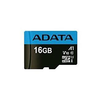 cartão de memória ADATA 16GB, microSDHC, Class 10 16GB MicroSDHC UHS-I Class 10  Preto e Azul