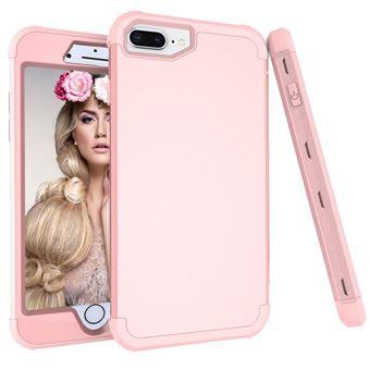 Capa TPU híbrido rosa Dourado para Apple iPhone 8 Plus/7 Plus/6s Plus/6 Plus