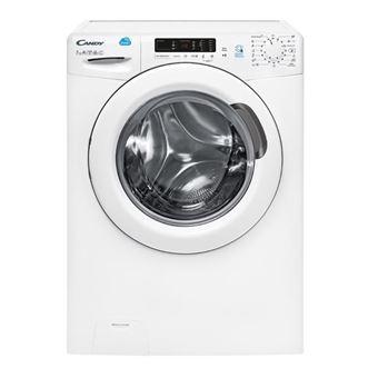 Máquina de Lavar Roupa Candy CS 1272D3-S Isolado Carregamento frontal 7kg 1200RPM A+++ Branco