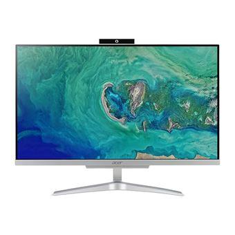 Desktop All-in-one Acer C24-865 i5 1,60 GHz 8GB SSD 256GB Prateado