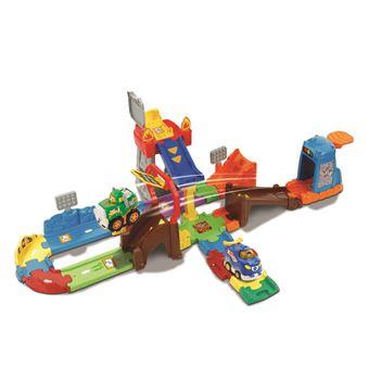 Brinquedo de Puxar VTech Tut Tut Bolides Circuit Super Cascades Push & Go