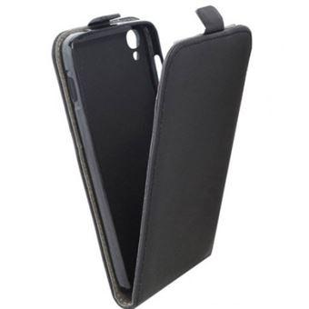 Capa Lmobile Flip Slim + Película para Alcatel One Touch Idol 3 5,5