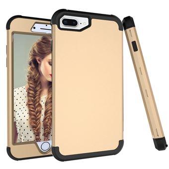 Capa TPU combinação Dourado / preto para Apple iPhone 8 Plus/7 Plus/6s Plus/6 Plus