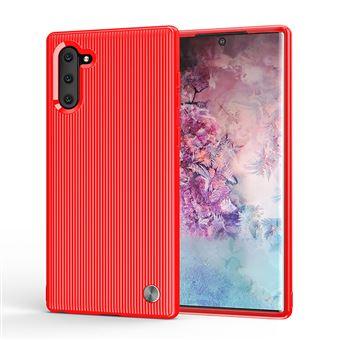 Capa Magunivers TPU Stripe Flexi Vermelho para Samsung Galaxy Note 10