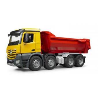 Camião de Descarga BRUDER MB Arocs Halfpipe Dump Truck