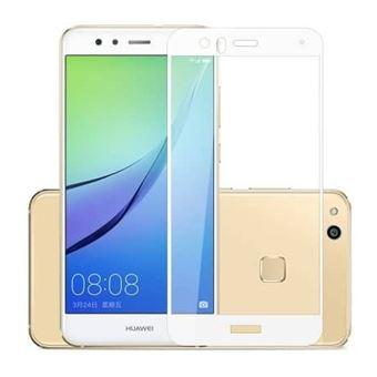 Película Ecrã de Vidro Temperado Lmobile 5D Full Cover para Huawei P10 Lite Branco