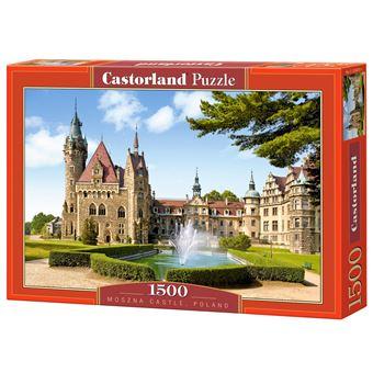 Puzzle Castorland Moszna Castle, Poland 1500 pcs 1500peça(s)