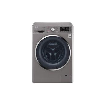 Máquina de Lavar Roupa Lg Branca F4J8JS2W 9Kg 1400Rt A+++ Silver