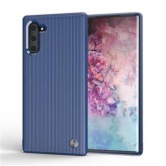Capa Magunivers TPU Stripe Flexi Azul para Samsung Galaxy Note 10