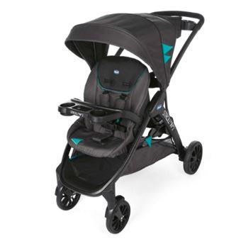Carrinho de bebé Chicco Stroll In 2  com sistema de viagem 2 lugar(es) Preto