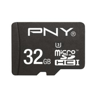 cartão de memória PNY MicroSDHC Turbo Performance 32GB 32GB MicroSDHC UHS-I Class 10