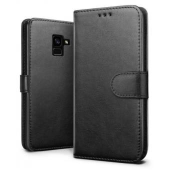6745f8e8f8 Capa Galaxy A8 Plus De 2018 Ise Housse Flip Carteira Preto - Bolsa Telemóvel  - Compra na Fnac.pt