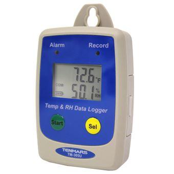 Sensor de Temperatura e Humidade Relativa BeMatik ST305U