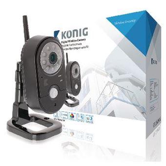 König SAS-TRCAM20 câmara de segurança interior Cubo Secretária 640 x 480 pixels