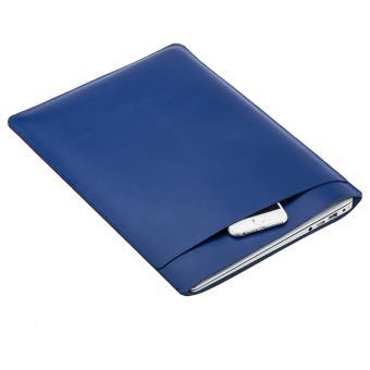 Mala de SOYAN de dupla camada para MacBook 12' com visor de retina (2015) - Azul Escuro