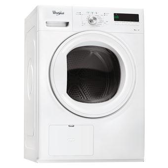 Máquina de Secar Roupa Whirlpool HDLX 80410 Isolado Carregamento frontal 8kg A+ Branco