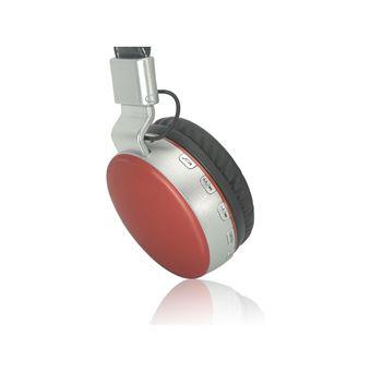 Fones de Ouvido IE Sem Fio com Rádio e Sd Duet Vermelho