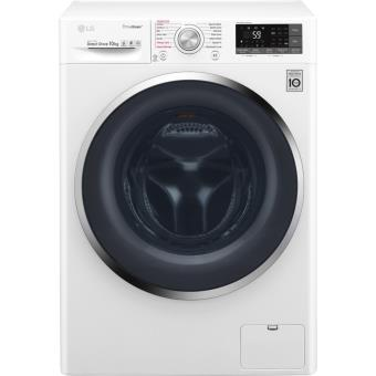 Máquina de Lavar Roupa Lg Branca F4J8JS2W 10Kg 1400Rt A+++