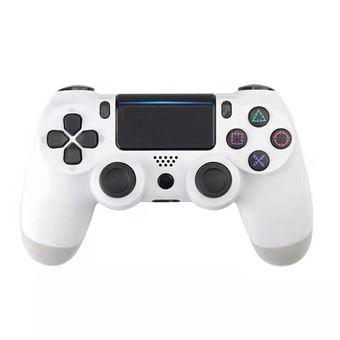 Controlador Deal We Compatível com PS4 | Double Shock | Wireless | Bluetooth - Branco