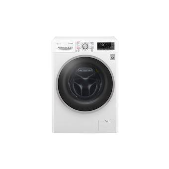 Máquina Lavar e Secar Roupa LG Branca F4J7FH1W 9Kg e Secar 6Kg 1400Rt Dd A