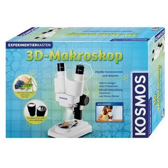 Kosmos 634407 Microscópio conjunto de ciência e brinquedos para criança Cinzento