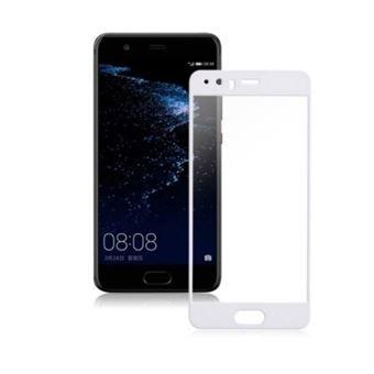 Película Ecrã de Vidro Temperado Lmobile 5D Full Cover para Huawei P10 Branco