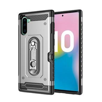 Capa Magunivers TPU Armadura Híbrida com Muleta Dinheiro para Samsung Galaxy Note 10