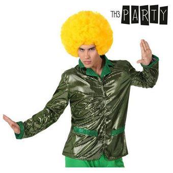 Casaco para Adultos Th3 Party Disco Brilho Verde XL
