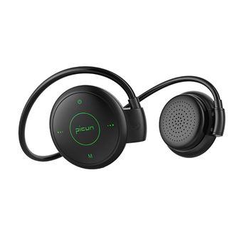 Auscultadores Desporto Bluetooth Magunivers PICUN T6 Gancho com Microfone Verde