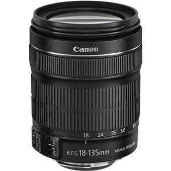 Canon EF-S 18-135mm f/3.5-5.6 IS STM + EW-73B + Lens Cloth SLR Lentes padrão Preto