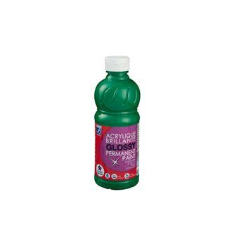 Tinta Acrílica LEFRANC&BOURGEOIS ED Color | Brilhante | 0,5 L - Verde Claro