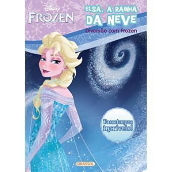 Disney Frozen. Diversão com Elsa, a Rainha da Neve