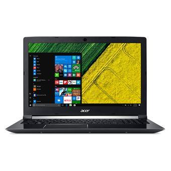 """Portátil Acer A715-72G-704Q i7 1256GB 15.6"""" Preto"""