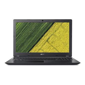 """Portátil Acer A315-33-P4ED N3710 1TB 15.6"""""""" Preto"""